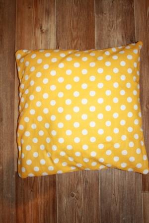 Подушка для вигвама Оранжевый Горошек